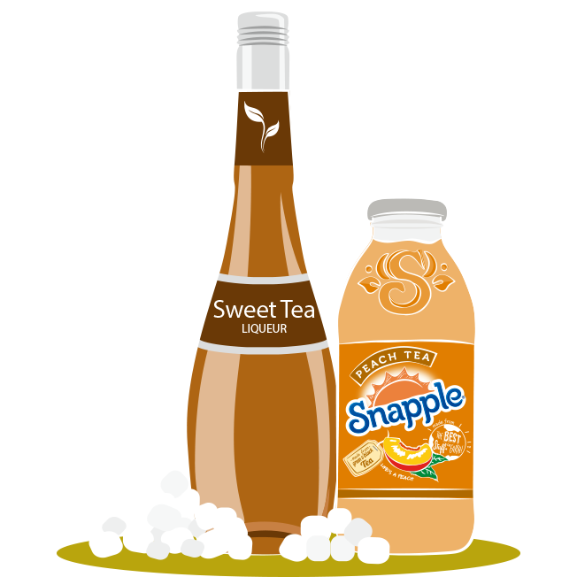 SNAPPLE HARD PEACH